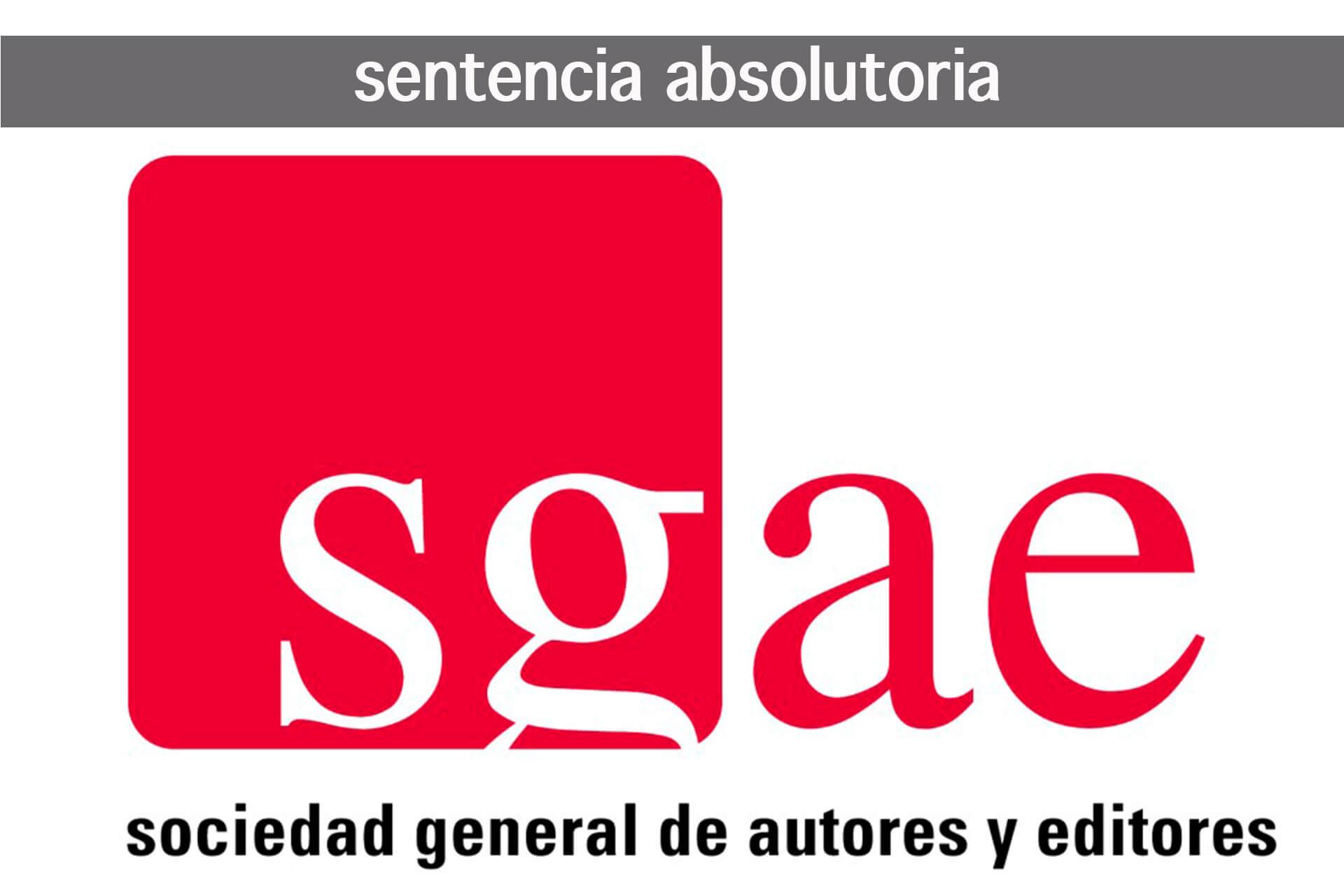 JulioSanchez_Abogados_Redlex_SGAE_Sentencia_Absolutoria
